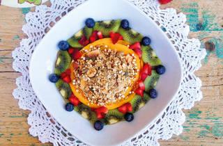 Happiness Bowl de fruta tropical