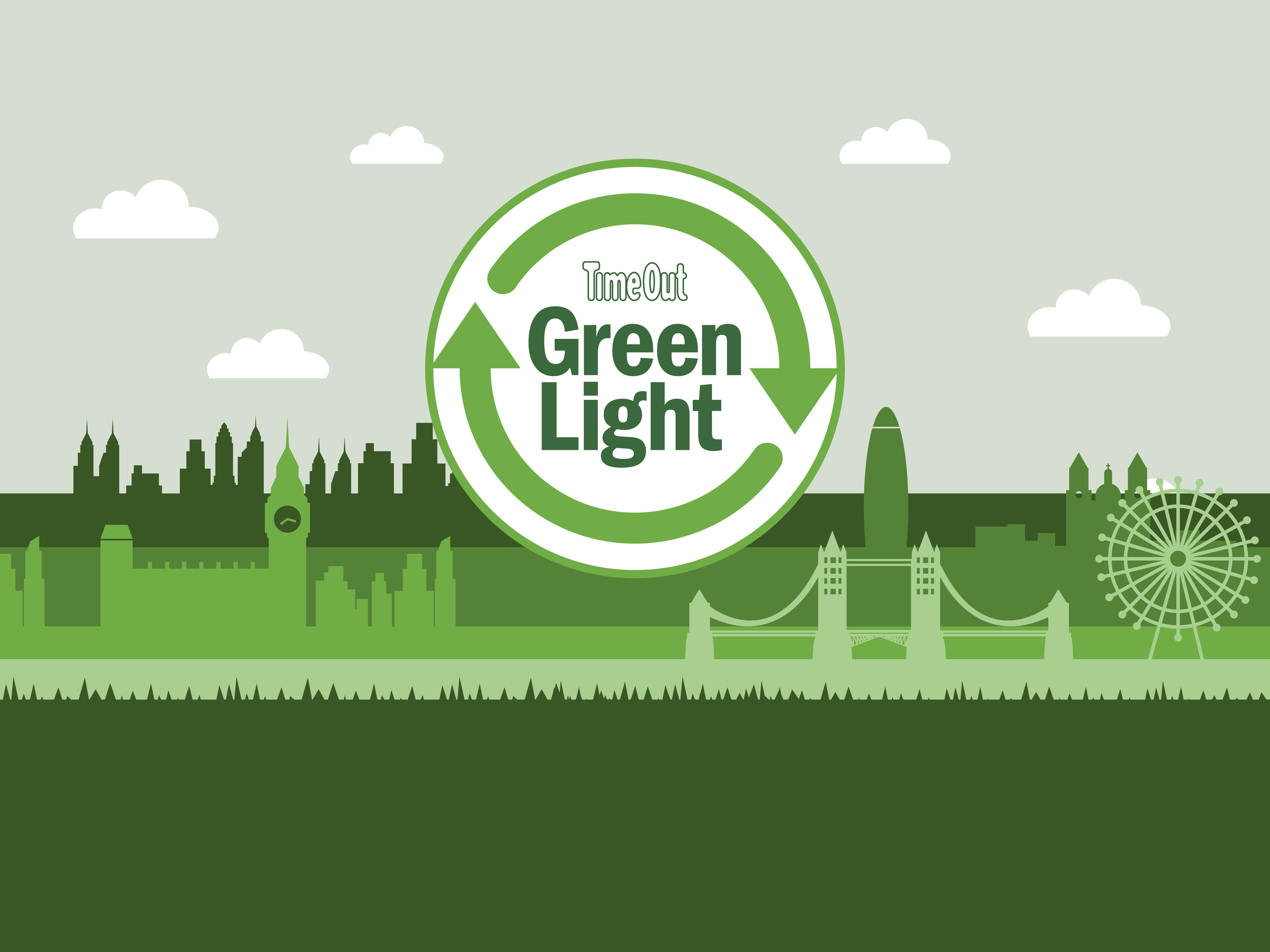 How to build a green city logo