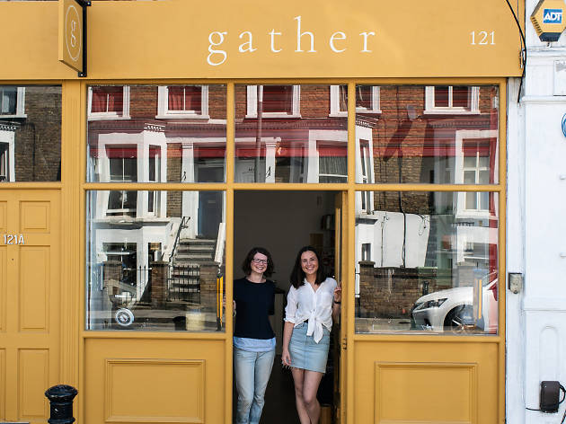 Gather sustainable store, London