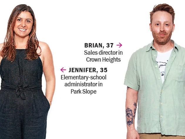 Jennifer and Brian
