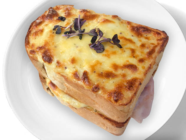 Toastie sandwich at Birdwood