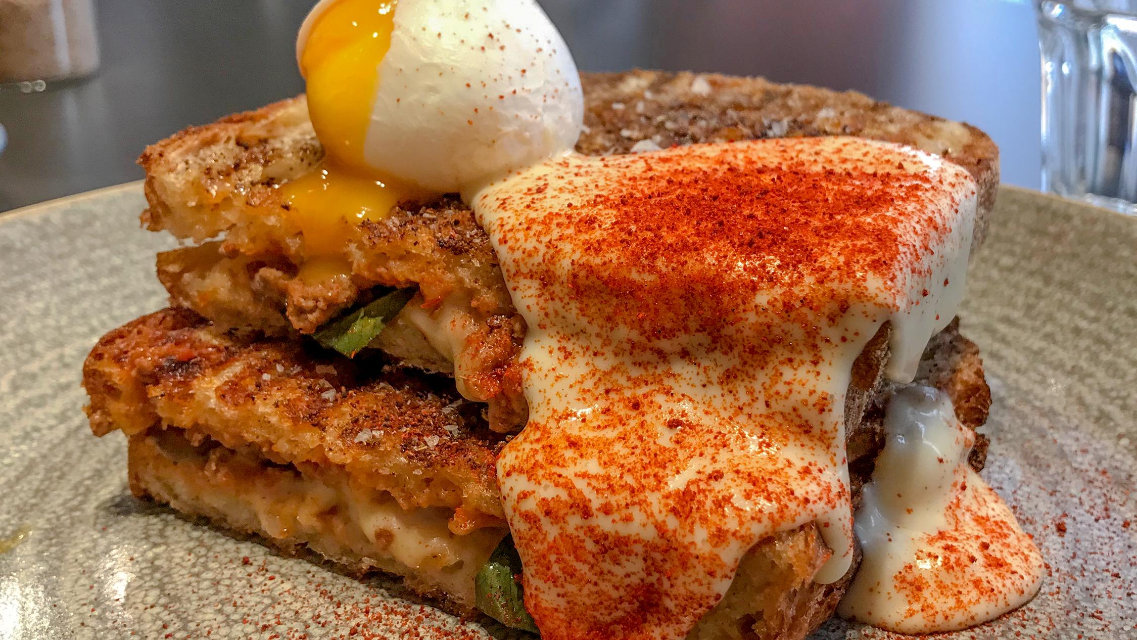 toastie sandwich at Cavelier