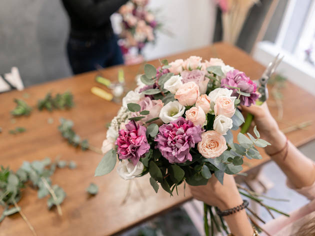 75% off a flower-arranging workshop