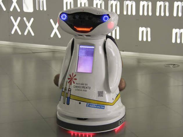 Robot Viva Pavilhão do Conhecimento