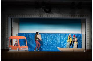 神里雄大/岡崎藝術座「バルパライソの長い坂をくだる話」