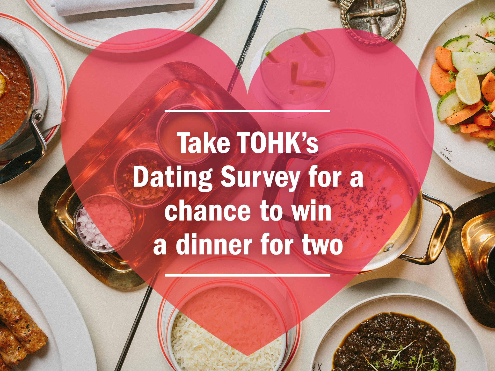 Win a dinner for two at Rajasthan Rifles by taking our dating survey