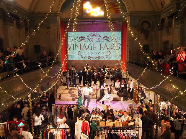 Pop Up Vintage Fairs at Wilton's Music Hall