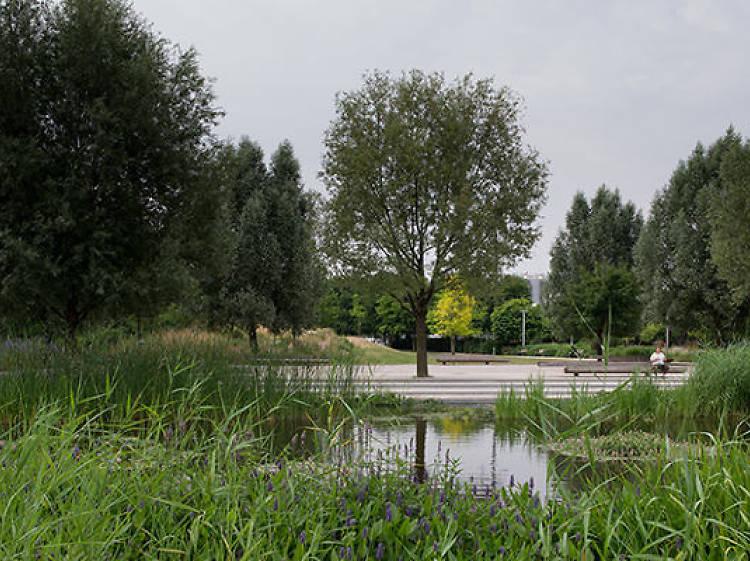 Parc Clichy-Batignolles - Martin-Luther-King
