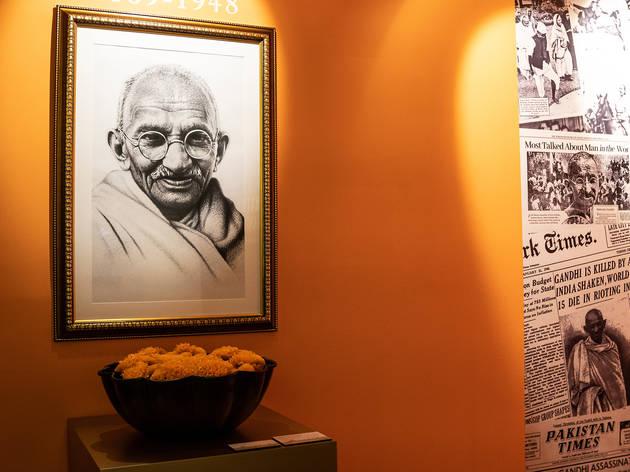 Gandhi (Foto: Alejandra Carbajal)