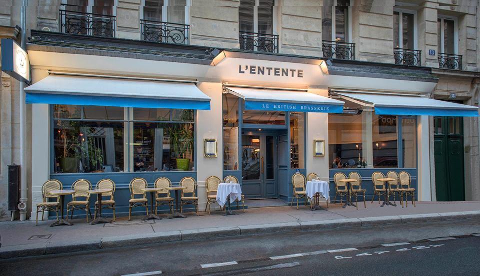 © L'Entente Le British Brasserie