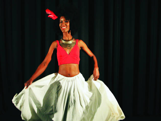 Afro-Colombian dancing with Karen Bravo, FCAC Let's Dance
