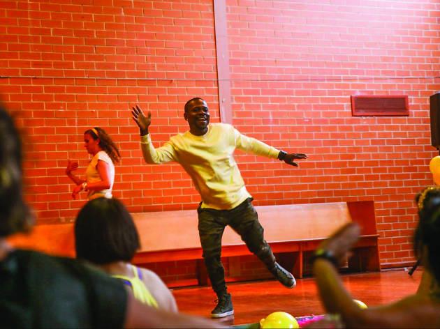Dagogo Obogo afrobeat dance class, FCAC Let's Dance