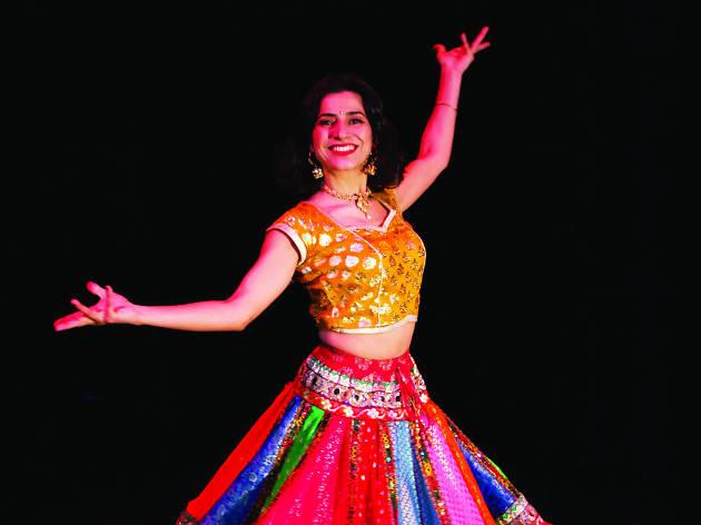 Joshinder Chaggar Bollywood dance class, FCAC Let's Dance