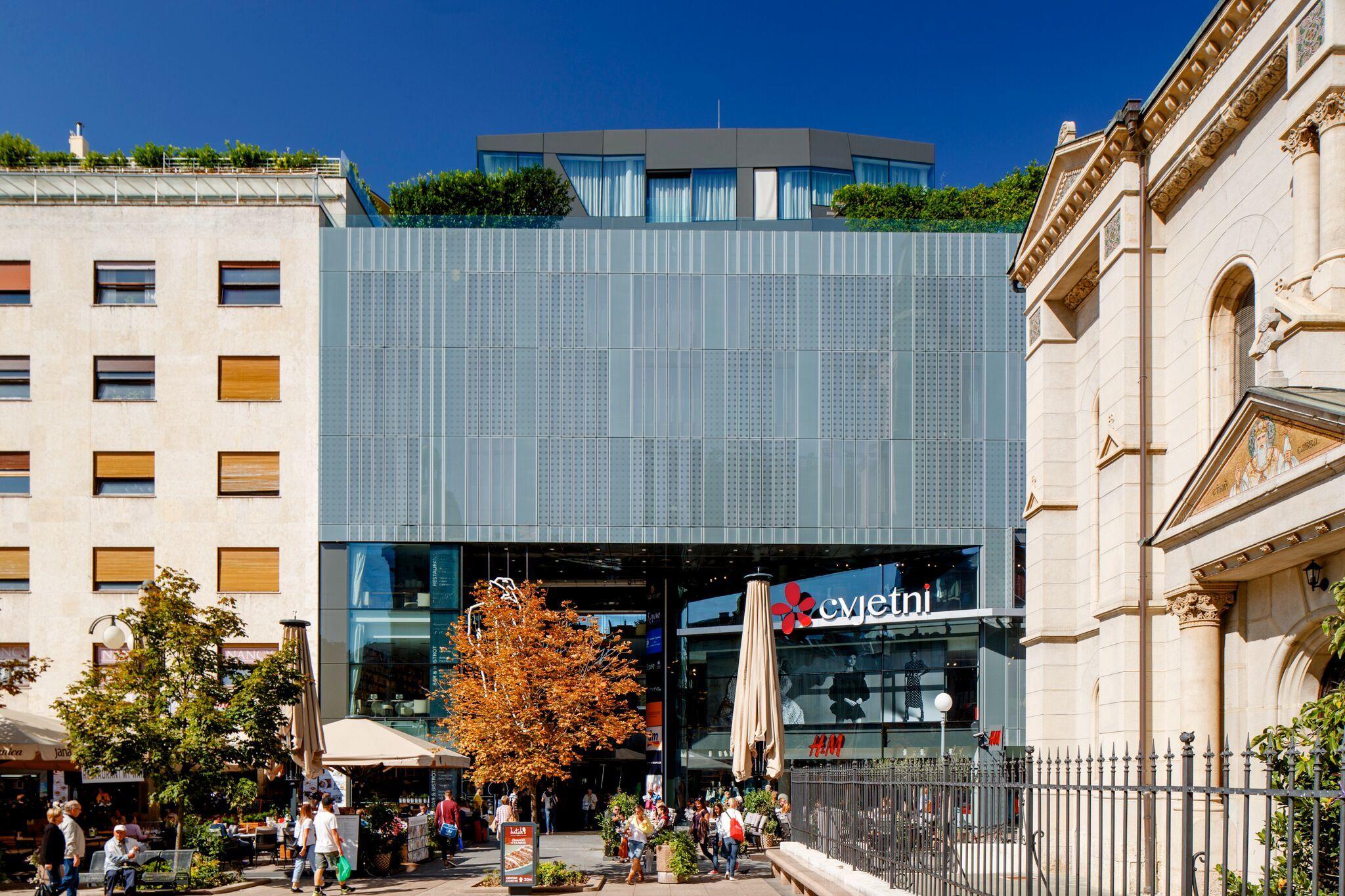 Cvjetni Centar Shopping In Zagreb Croatia