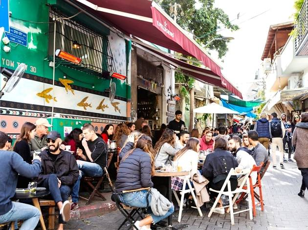 Where to drink and eat around the Carmel Market