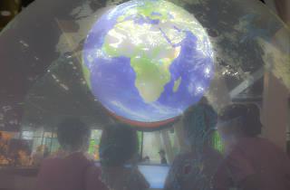 Univers. Exposició permanent del Cosmocaixa