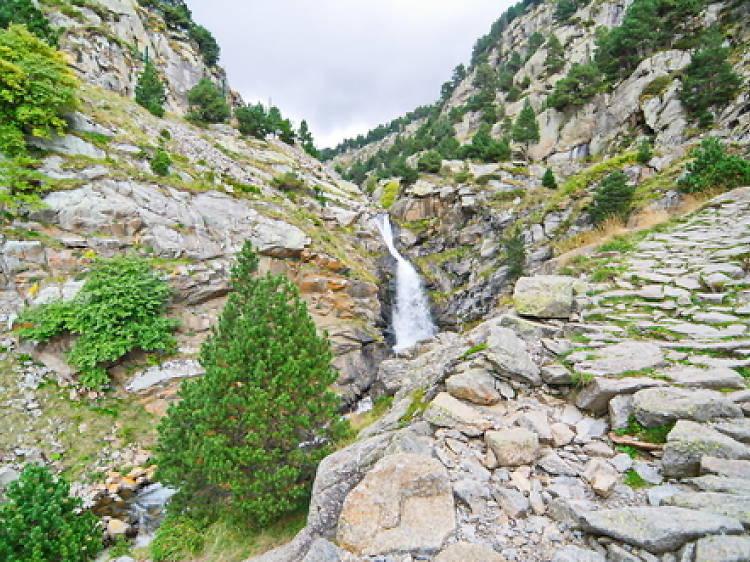 Cascadas de la Vall de Núria