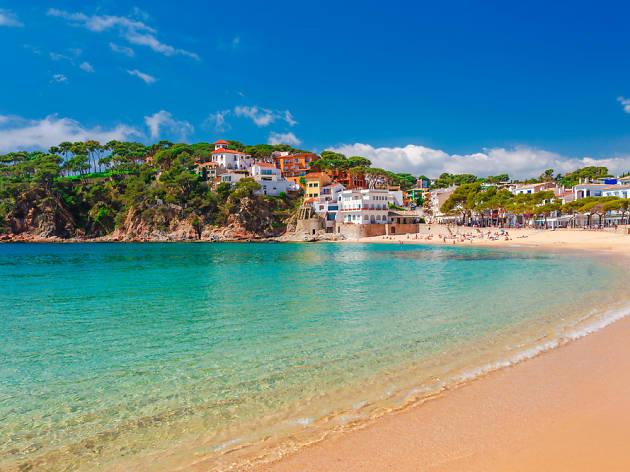 Mapa Costa Brava Playas.Las Mejores Playas De La Costa Brava