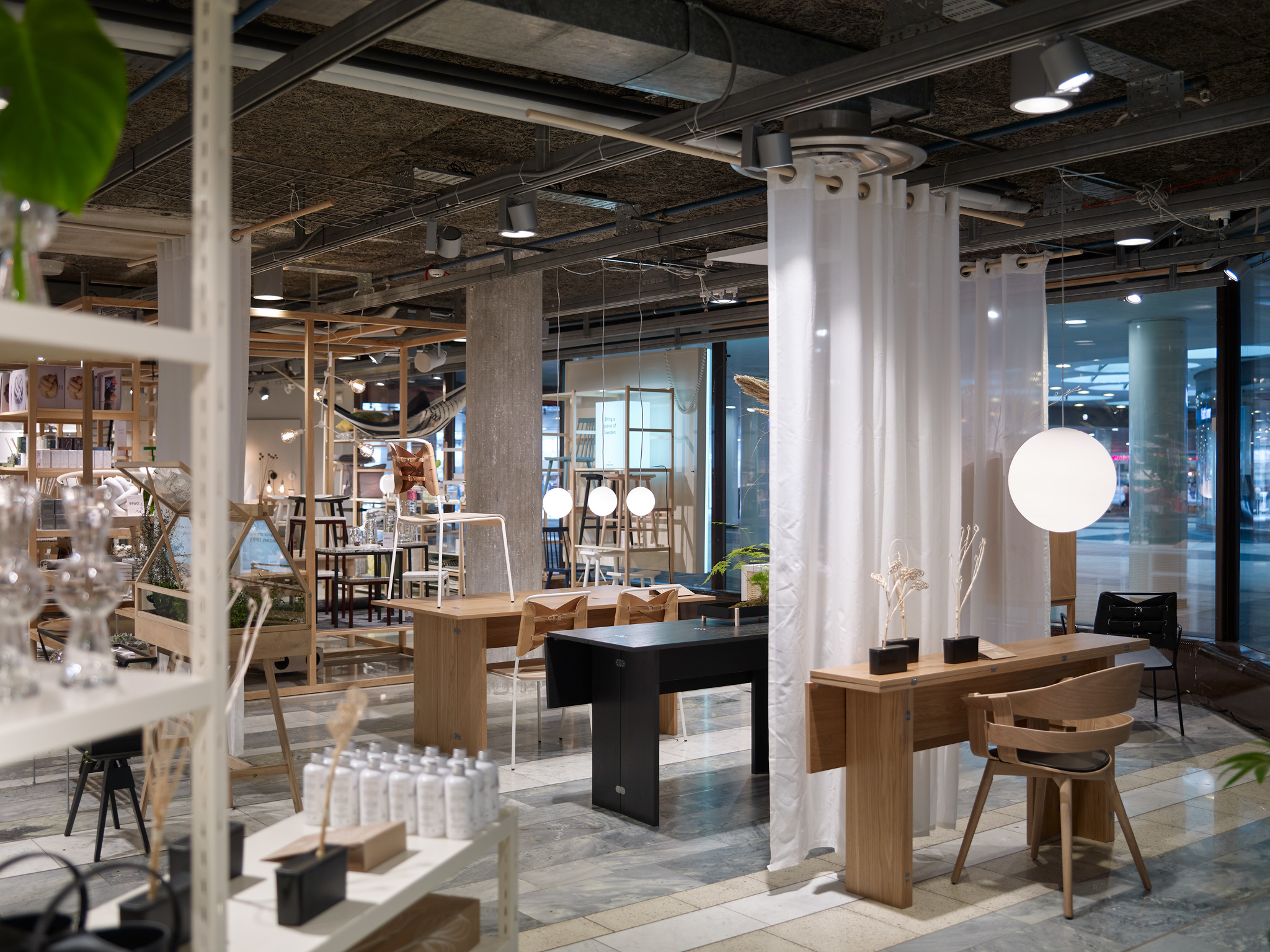 Homeware for sale at the Sergels Torg outlet of Designtorget in Stockholm