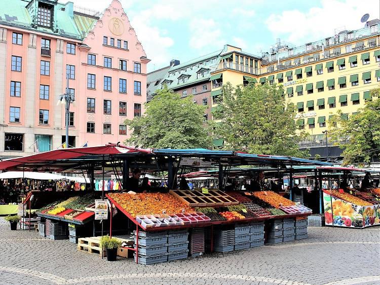 Hötorget flea market