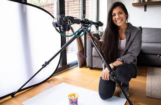 Jade Nina Sarkhel, food photographer