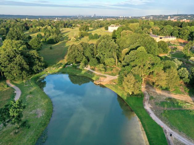 Beckenham Place Park Swimming Lake