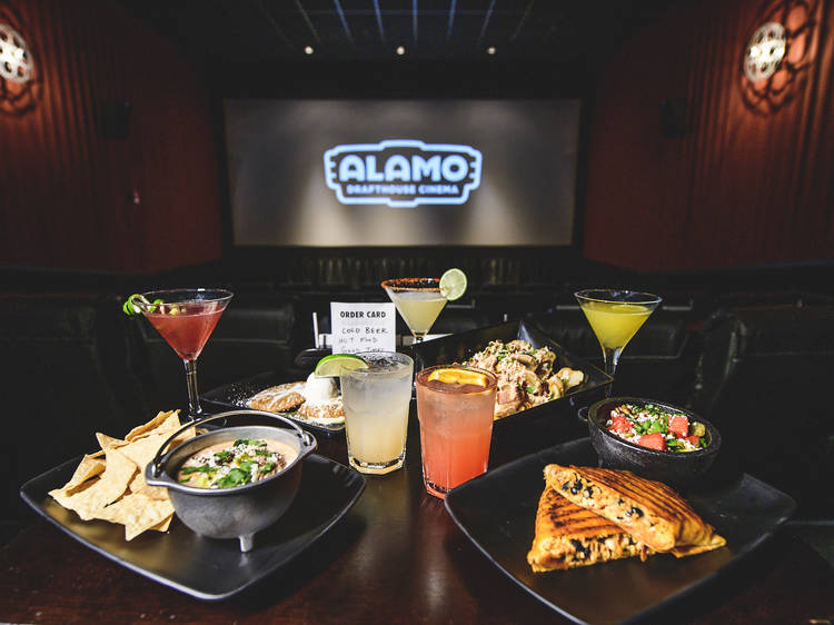 The best dine-in movie theater options in Los Angeles
