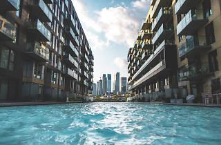 Les rues des Quartiers du Canal