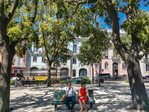 Huawei - Miradouro de São Pedro de Alcântara