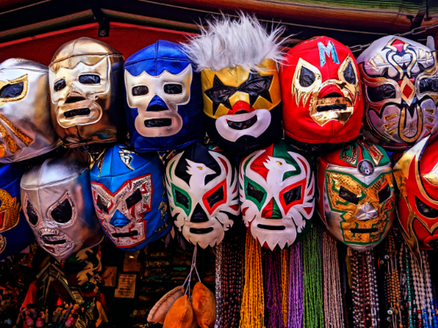 Máscaras lucha libre mexicana