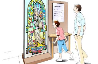 実験する漫画展 AGC MEETS Dr.STONE