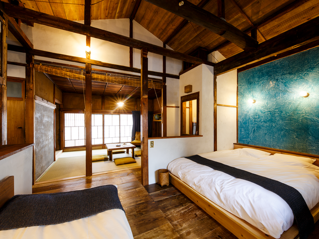 A heritage home in Akasaka is now open for booking as a guesthouse