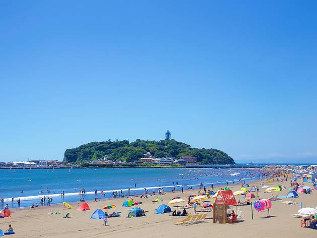 江ノ島海水浴場 片瀬東浜