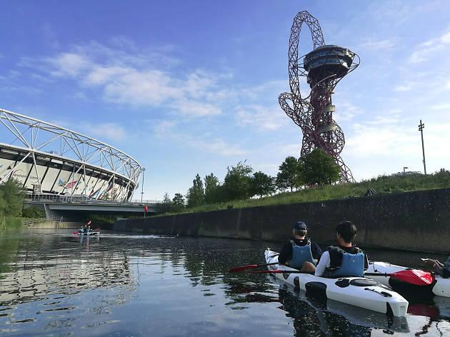 Moo Canoes in London, uk