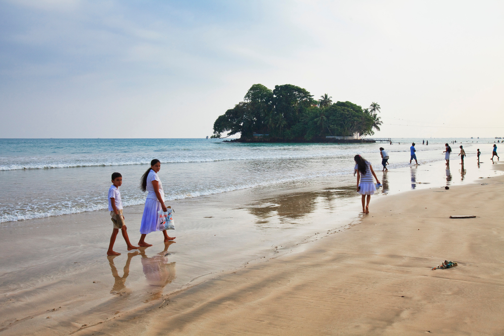 Weligama Beach, Sri Lanka
