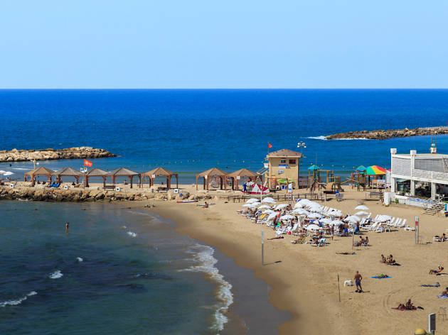 Metsitsim Beach, Israel