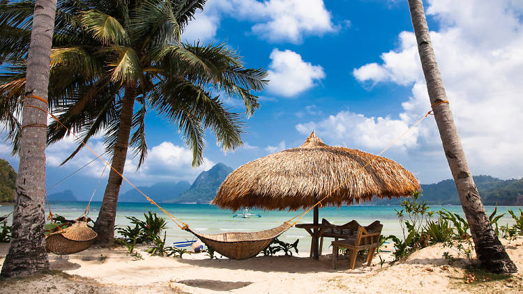 Marimegmeg Beach, Palawan, Philippines
