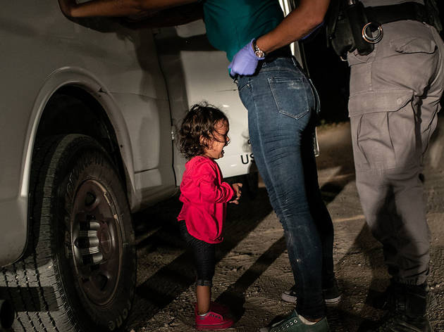 Foto: Crying Girl on the Border © John Moore/Cortesía World Press Photo