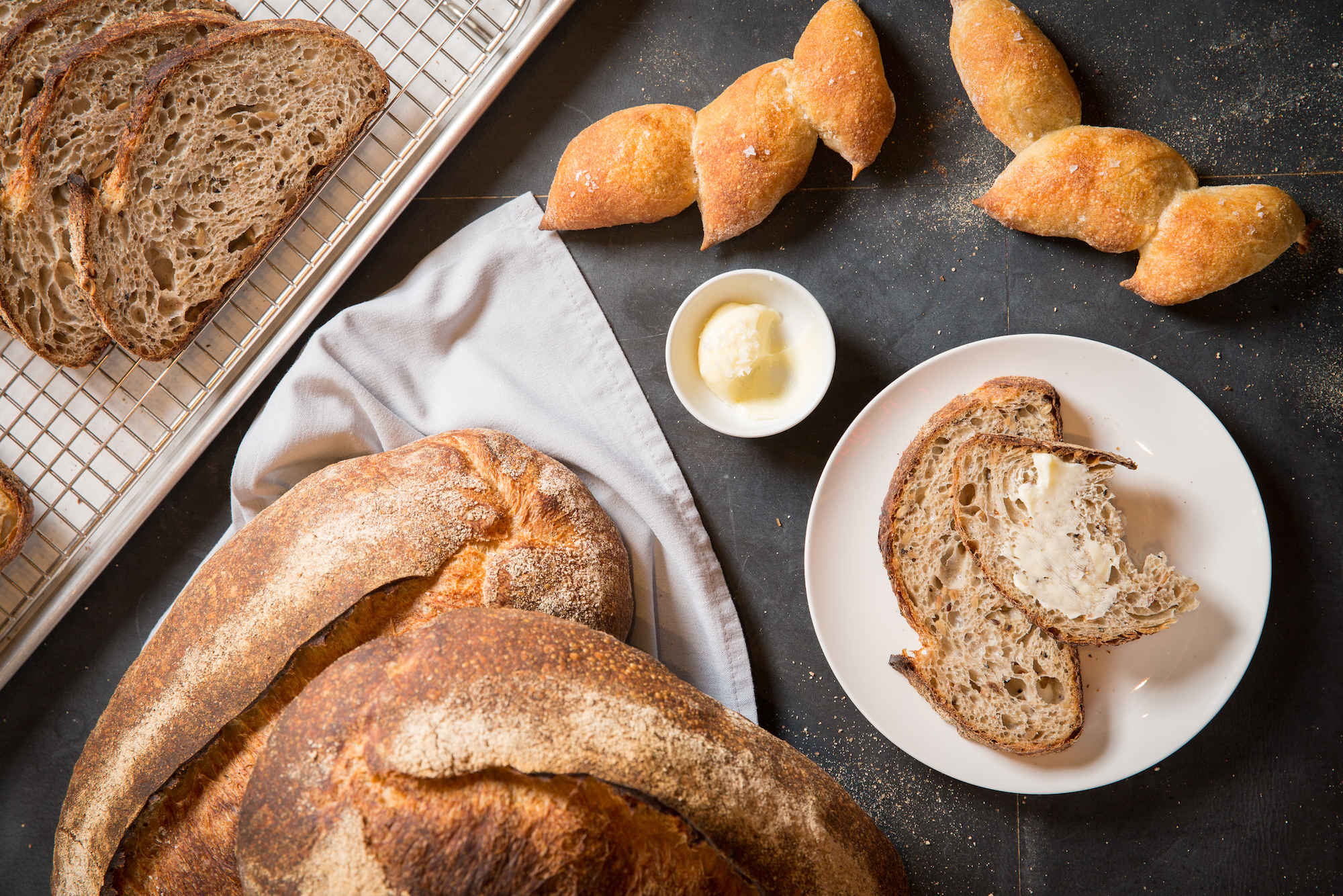 Where to find amazing bread service in Chicago