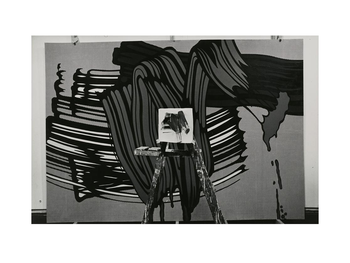 Ugo Mulas, Roy Lichtenstein's studio, 1965