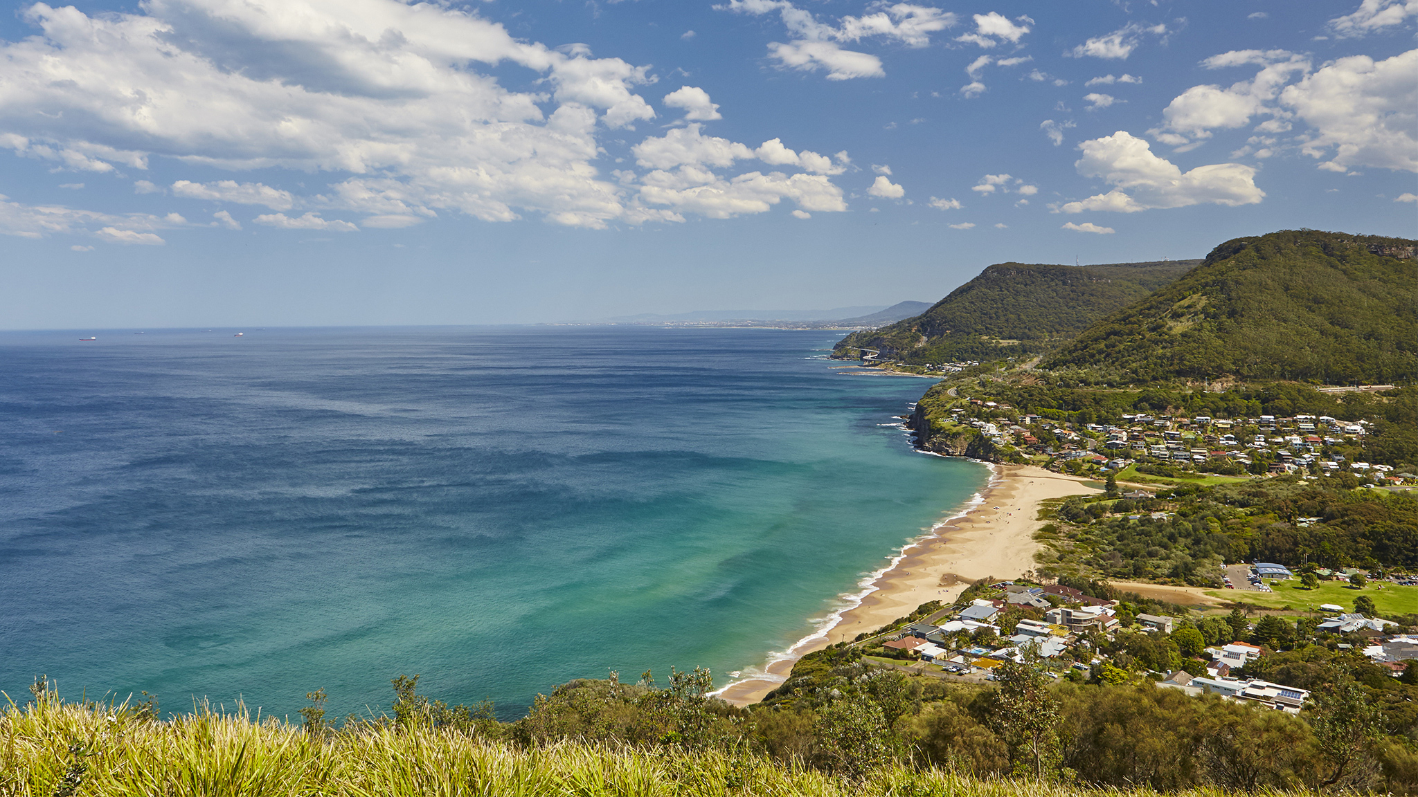 View from Stanwell Tops lookout in the Royal National Park.