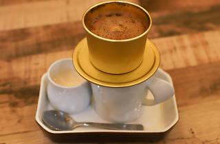 La Saigon drip coffee
