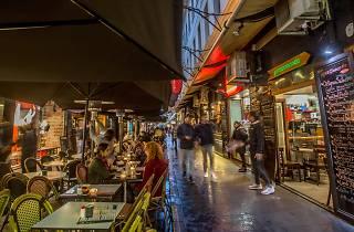 Degraves Street cafes