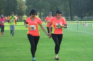 Carrera Xochitla Run Dúo (Foto: Cortesía Xochitla Parque Ecológico)