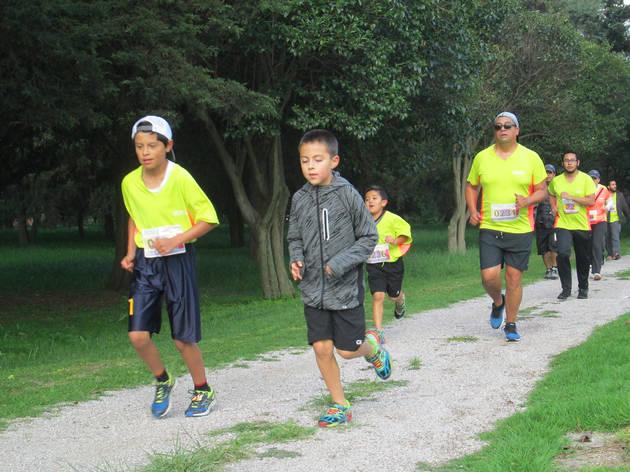 Carrera Xochitla Run Dúo (Foto: Cortesía de Xochitla Parque Ecológico)
