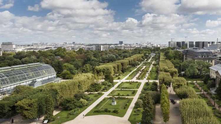 Jardin des plantes - Vue du toit de la Grande Galerie de l'Evolution