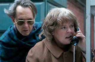 A still from the film 'Can You Ever Forgive Me' featuring Melissa McCarthy and Richard E. Grant