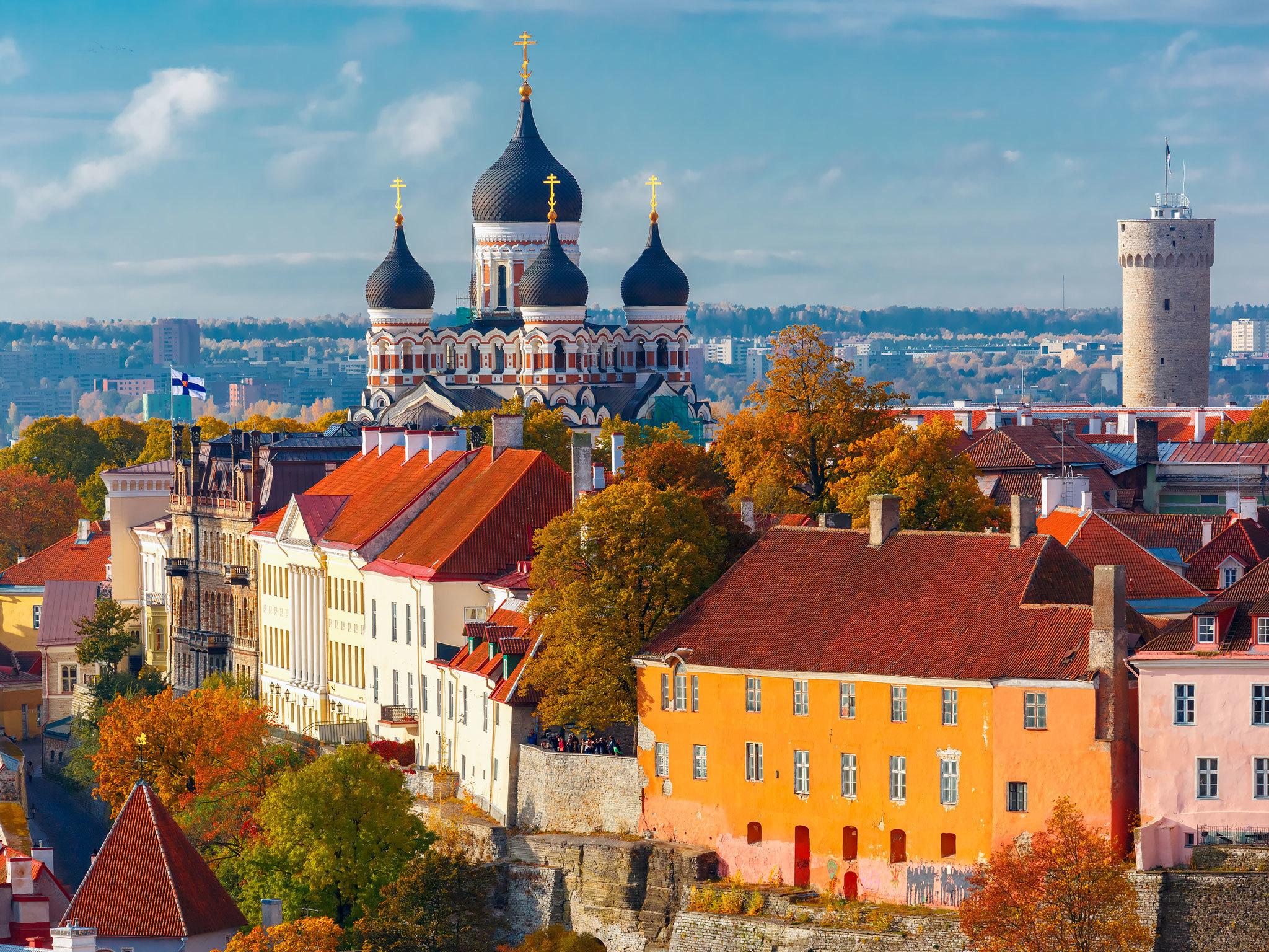 Views of Tallinn old town