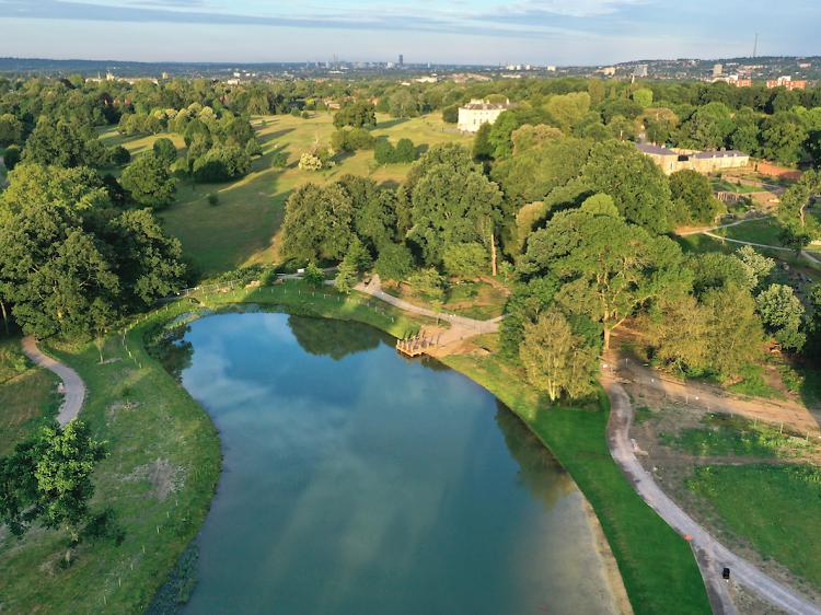 Beckenham Park Swimming Lake, London