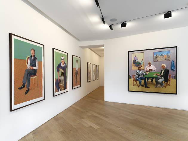 © David Hockney / Galerie Lelong